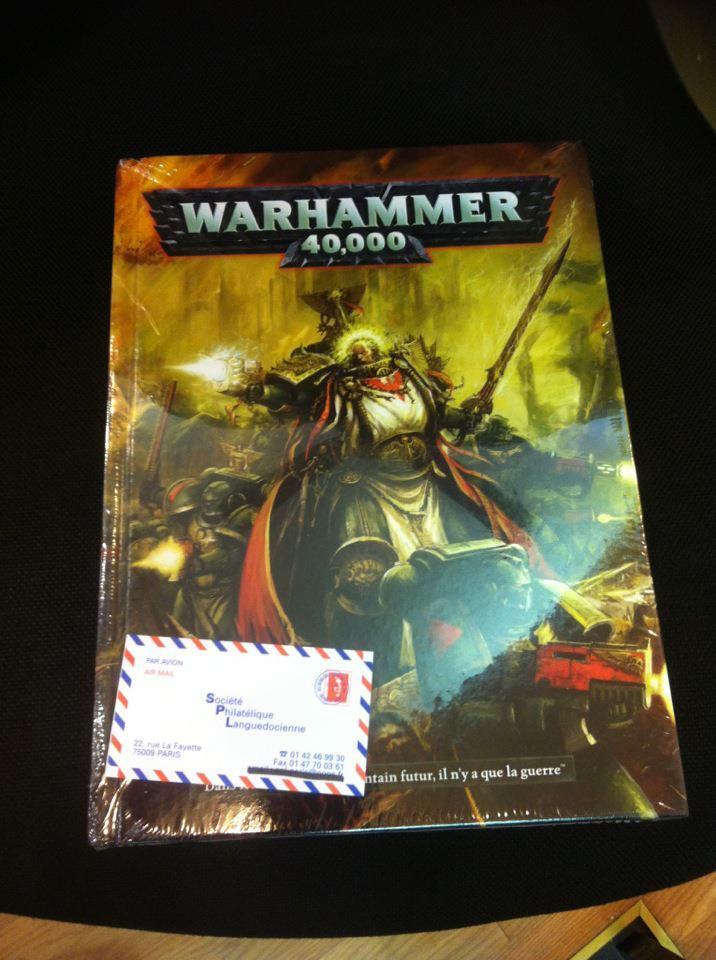 Le Livre de Règles de Warhammer 40,000 - V6 (en précommande) - Sujet locké - Page 3 205226exemplaire
