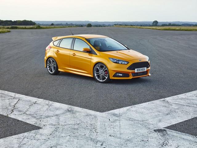 Ford choisit la célèbre course de côte de Goodwood pour dévoiler la nouvelle Focus ST 205444FocusST23