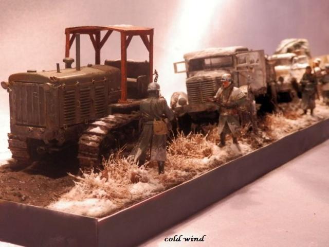 tracteur d artillerie soviétique chtz s-65 version allemande 1/35 trumpeter,tirant 2 blitz de la boue - Page 5 205740PA190041
