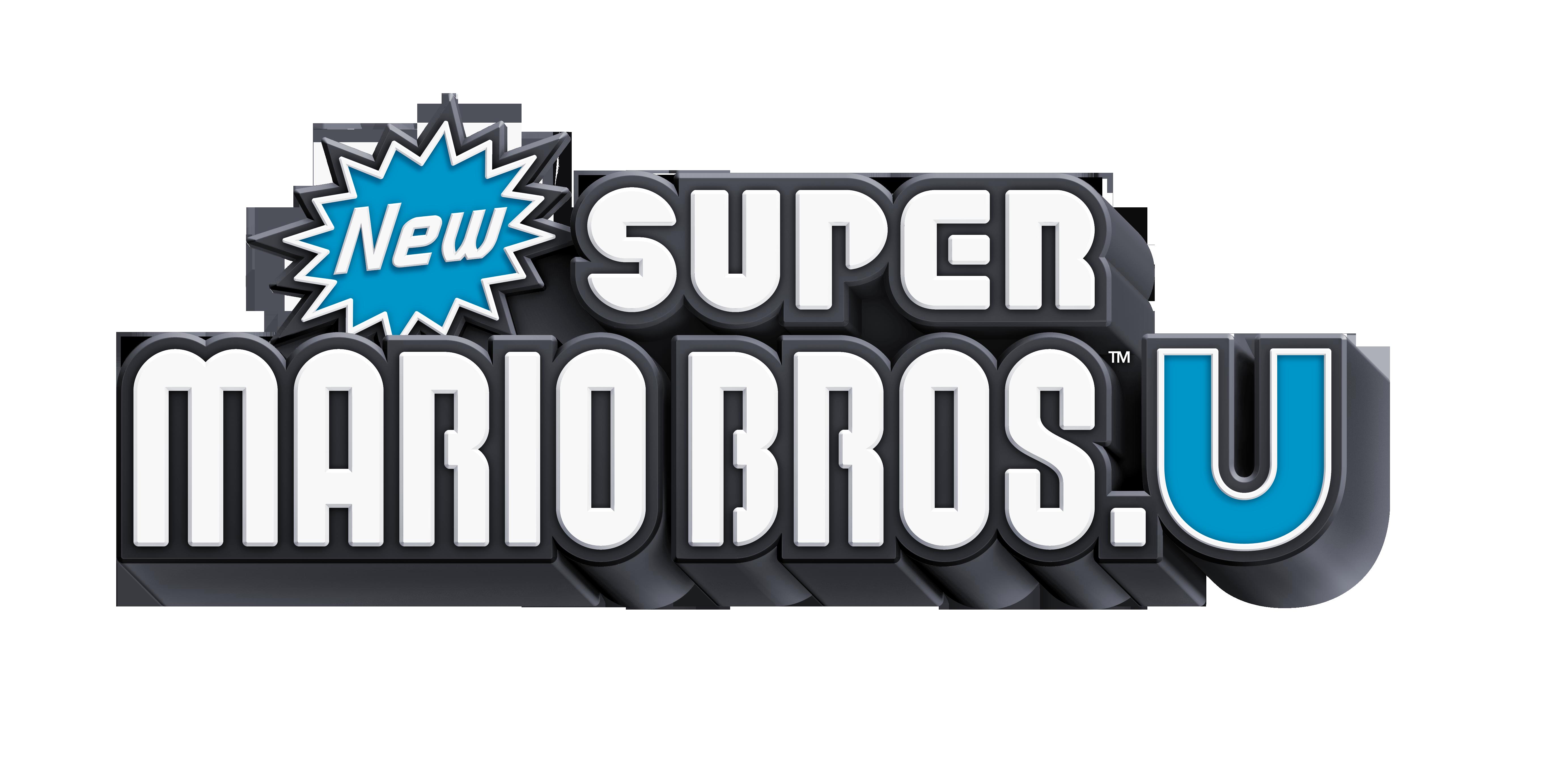 New Super Mario Bros. U   WiiU 205840WiiUNewMarioU0logoE3