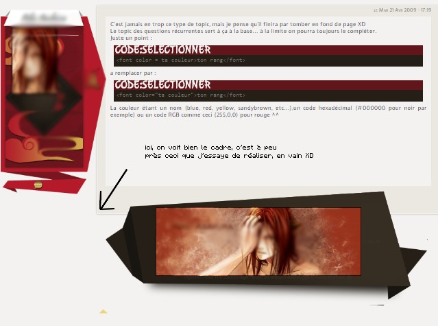 Besoin d'aide pour modifier l'affichage de messages :) 206323exmeple