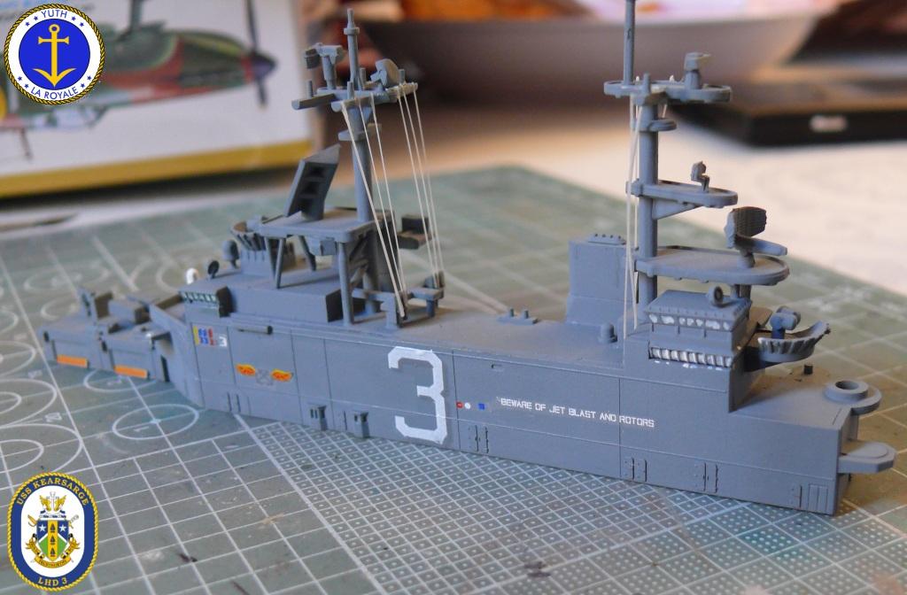 USS KEARSARGE LHD-3 1/700 REVELL 206715Kearsarge29