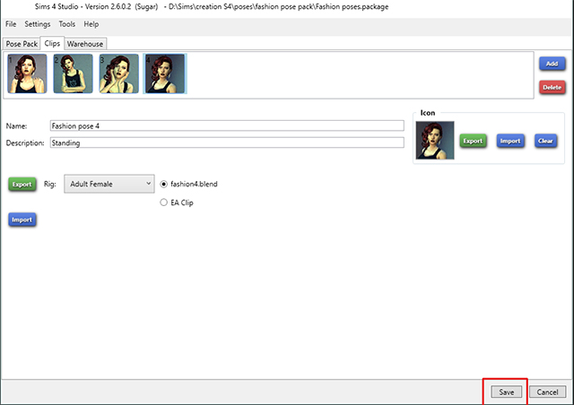 [Intermédiaire] Créer un pack de pose avec S4Studio pour le Pose Player Mod d'Andrew 207046909