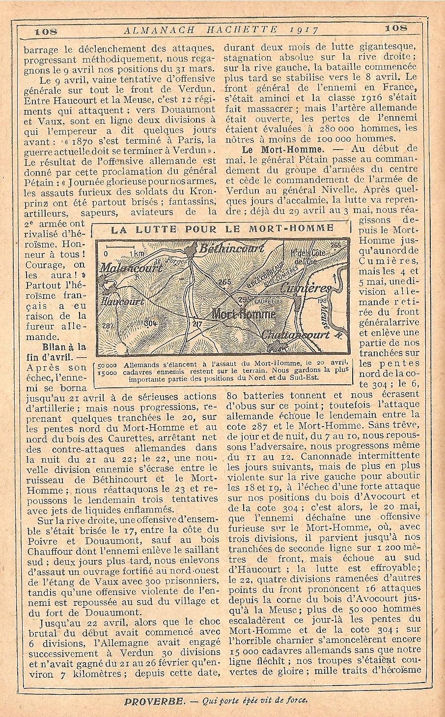[HISTOIRES ET HISTOIRE] [SUJET UNIQUE] LE CENTENAIRE DE LA GRANDE GUERRE - Page 5 207319Verdun11