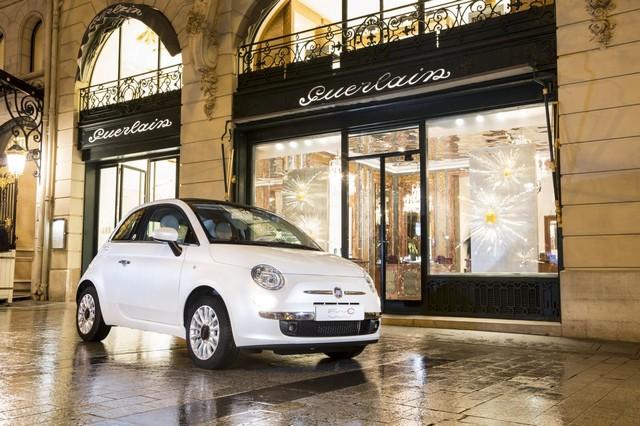Fiat 500 La petite Robe noire by Guerlain 209457Fiat500LapetiteRobenoire