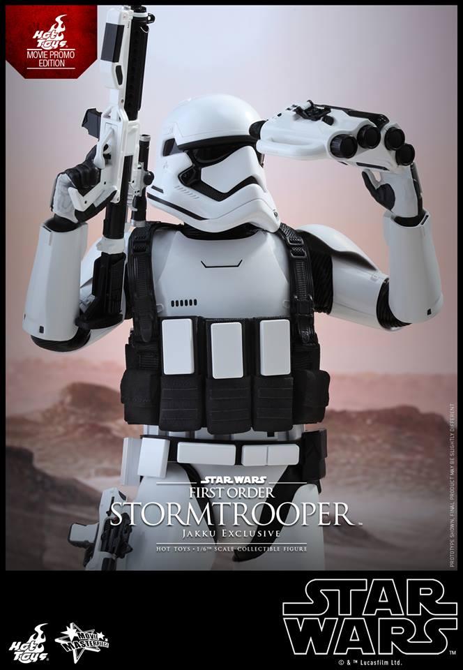 HOT TOYS - Star Wars: TFA - First Order Stormtrooper Jakku  209988102