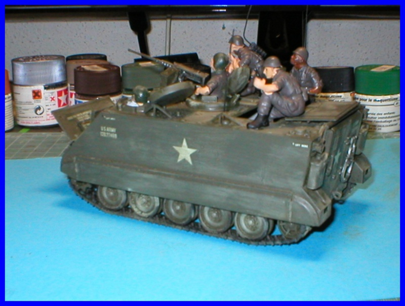 M 113 US ARMOURED PERSONNEL CARRIER 1/35 TAMIYA 210114P1010005800x600