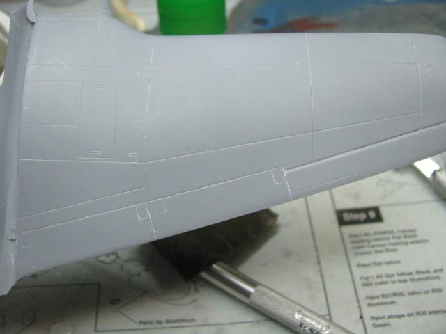 Ryan XF2R-1 Dark Shark Czech Model 1/48.....Terminé! 210517IMG8930