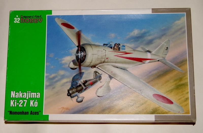 nakajima Ki-27 nomonhan aces special hobby 1/32 211610ki2701