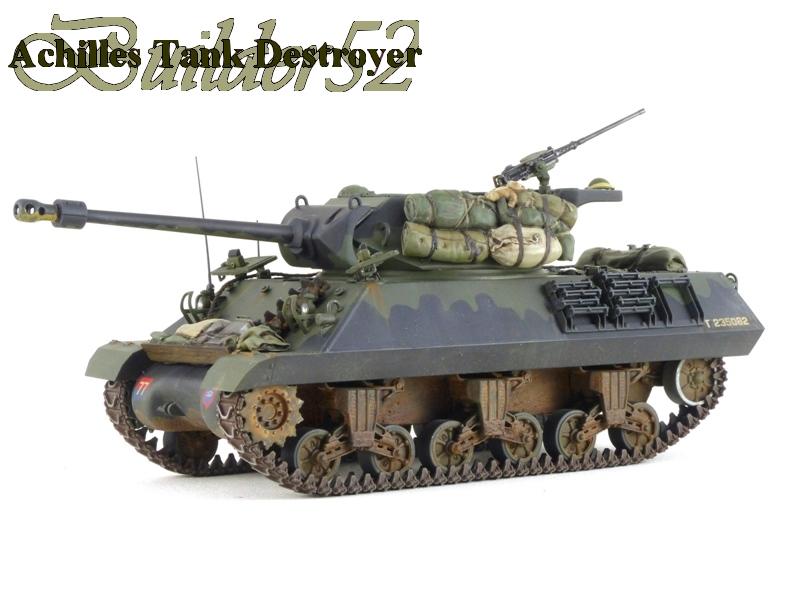 Achilles Tank Destroyer - Academy-Italeri + RB Model + set Blast 1/35 212364P1040530