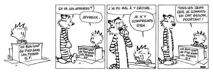 """LE BISTROT OU L'ON CAUSE  """" Aux cas faits d' la vie"""" 212665calvinethobbes"""