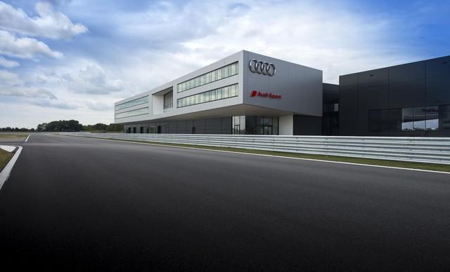 AUDI AG inaugure un complexe high-tech à Neubourg 213443AudiNeuburgCompetenceCenterMotorsport