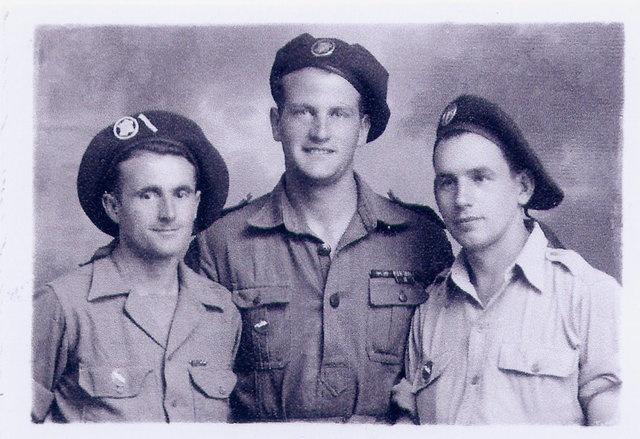 Le 1er Bataillon de Choc à STAOUELI en 1943  par Maurice DOUET (2002) 214690RouvetDouetetX