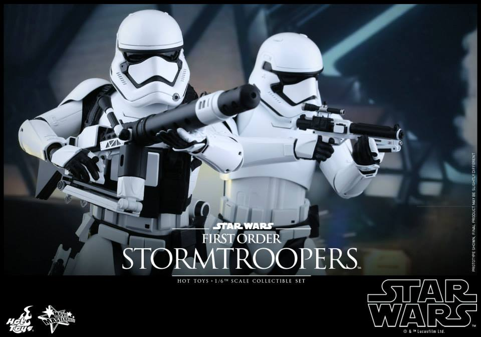 HOT TOYS - Star Wars: TFA -  First Order Stormtroopers 215461102