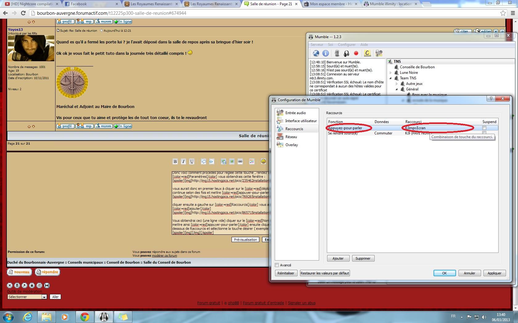 Installer et configurer mumble 215802installationM10