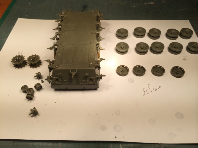 M24 Chaffee light tank, AFV Club 1/35 215970IMG35651