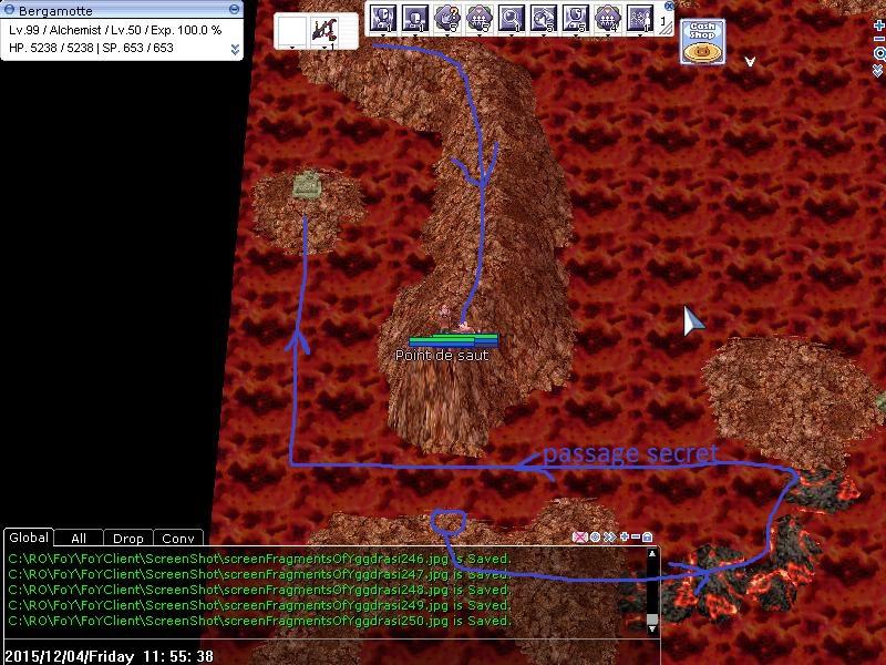 Quête - Pit of Fire 216518trajet04