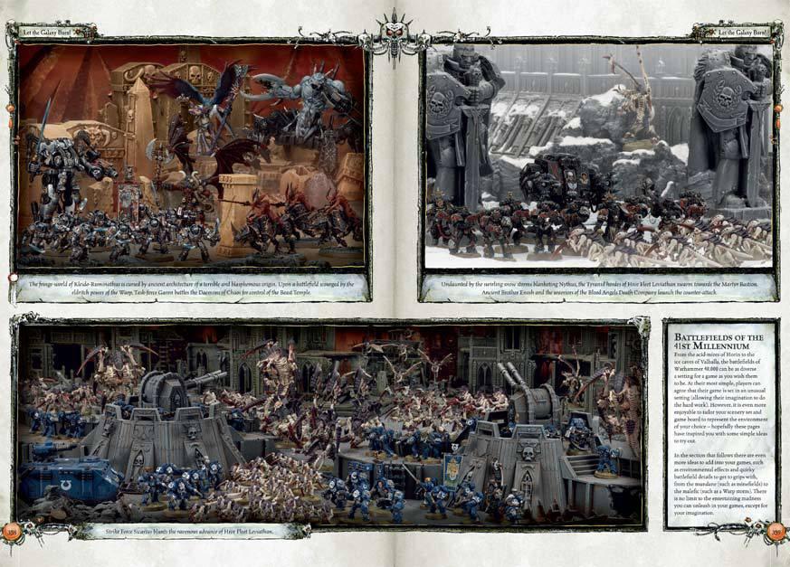 Le Livre de Règles de Warhammer 40,000 - V6 (en précommande) - Sujet locké 219254W40K3
