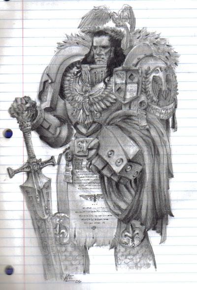 [W30K] L'Empereur de l'Humanité / The Emperor of Mankind 220663EmperorofMankindbyRistyMcFist