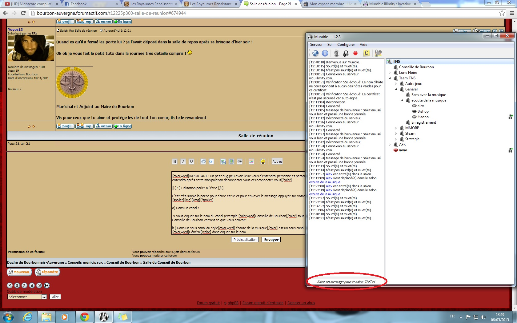Installer et configurer mumble 220673installationM12