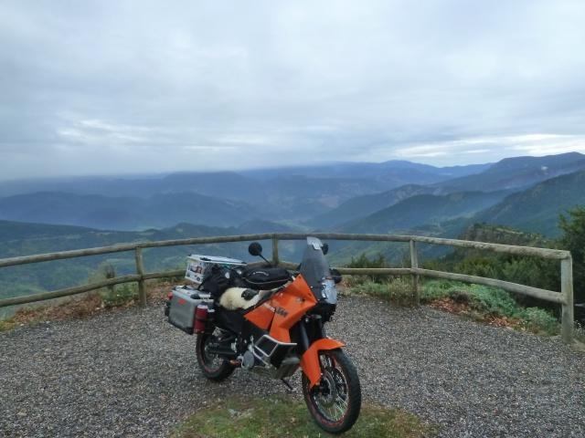 Road Trip automnal dans les Pyrénées en 990 Adventure : partie 2 -St Lary Soulan (65) 221278P1430164