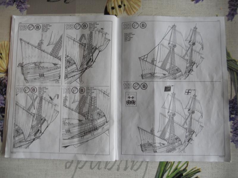 Pilgrim Ship MAYFLOWER Kit Revell au 1:83° 223068DSCN9554