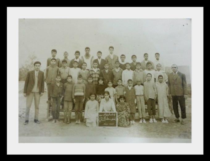 مدرسة الزواقين : صور قديمة لأطر التدريس  والتلاميذ في  الستينيات  223074z11