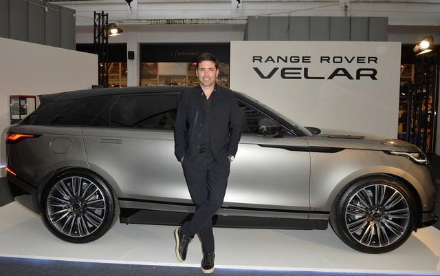 Le Range Rover Velar s'est dévoilé sur les toits de Paris 223721corpo0020