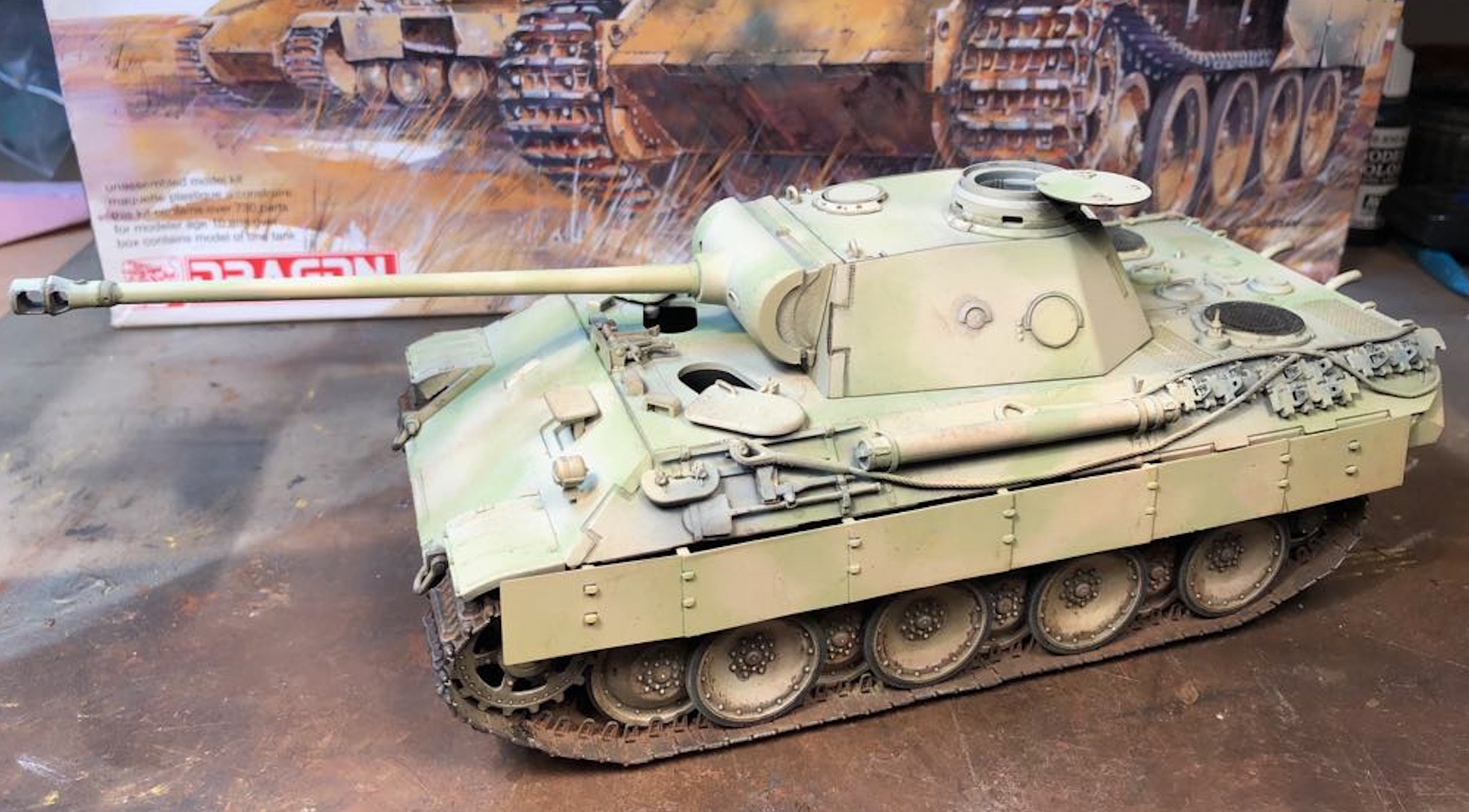 Sd.Kfz.171 Panther D - Page 2 224408PantherDCamoTest
