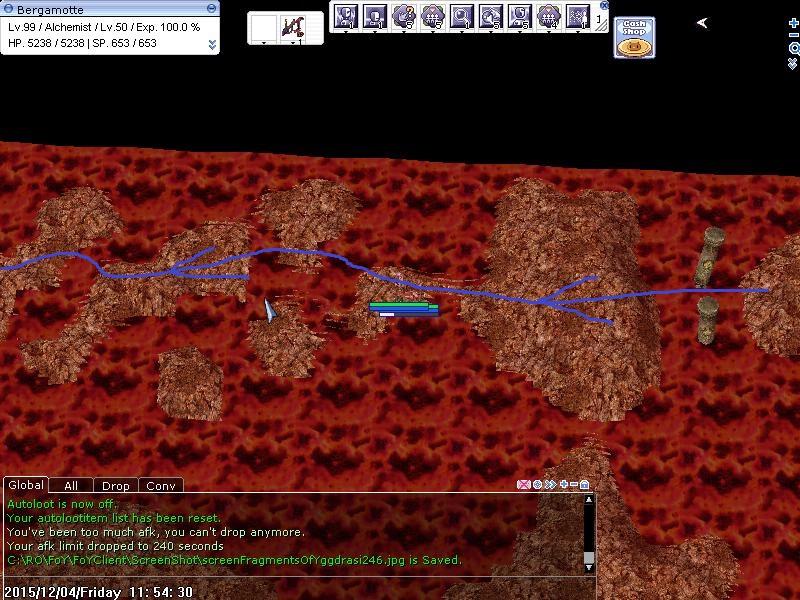 Quête - Pit of Fire 225090trajet02