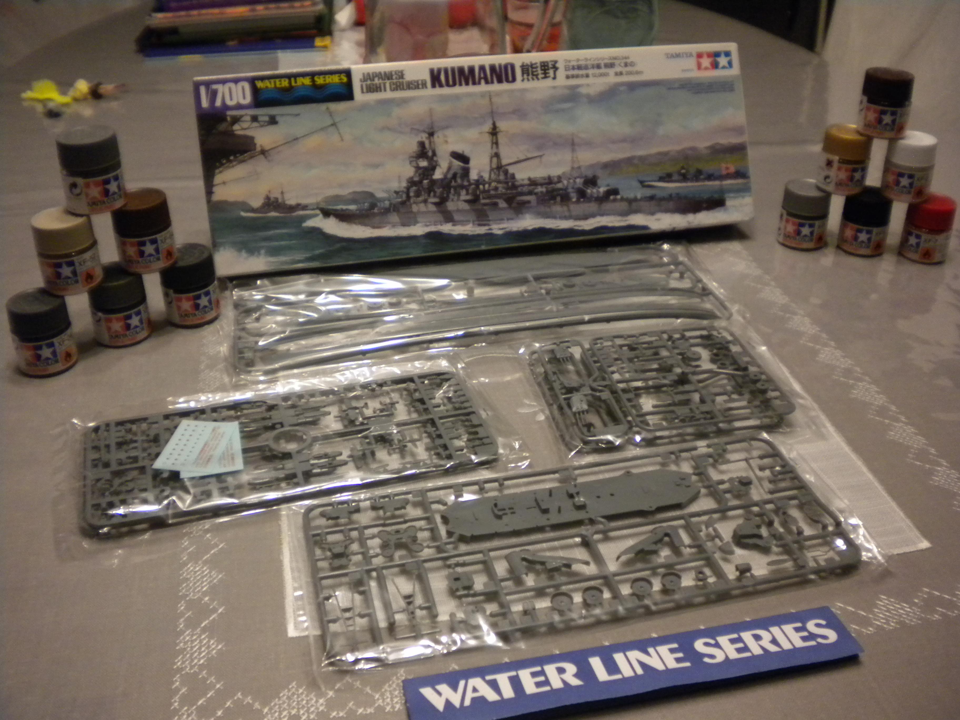 Croiseur léger KUMANO 1/700 TAMIYA 225289DSCN6857