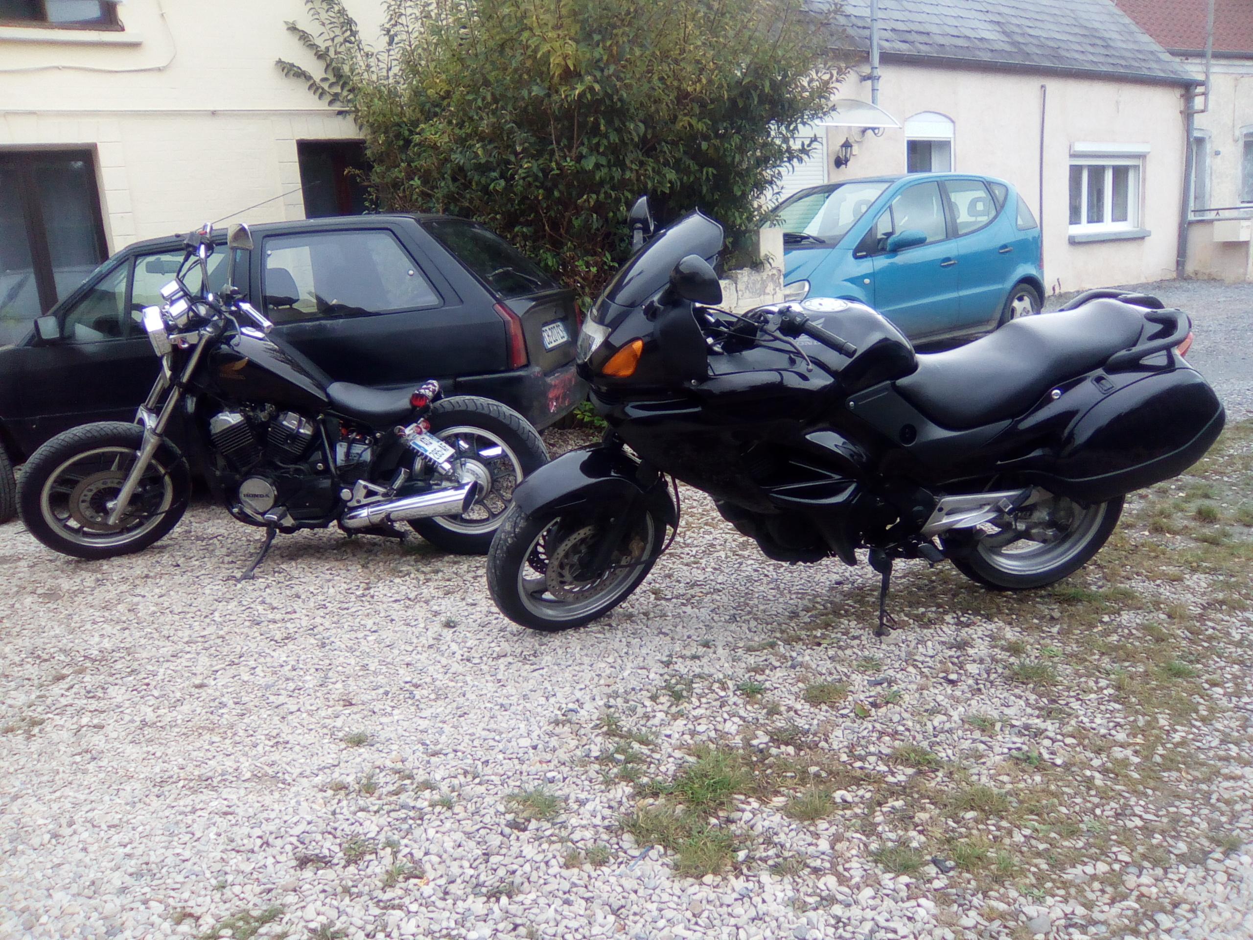 vt500c  transformation  en bobber, mes motos Deauville, Shadow 600 225902IMG20161022132426