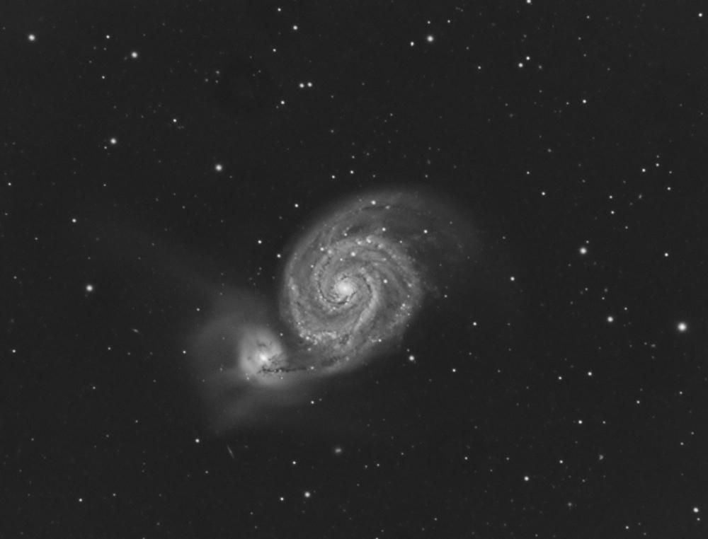 M51 C11 EdgeHd Atik383L+ en 1h chrono 226493M51Weba