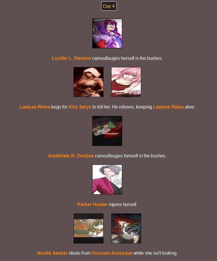 Quederla's Hunger Games 227082Day41