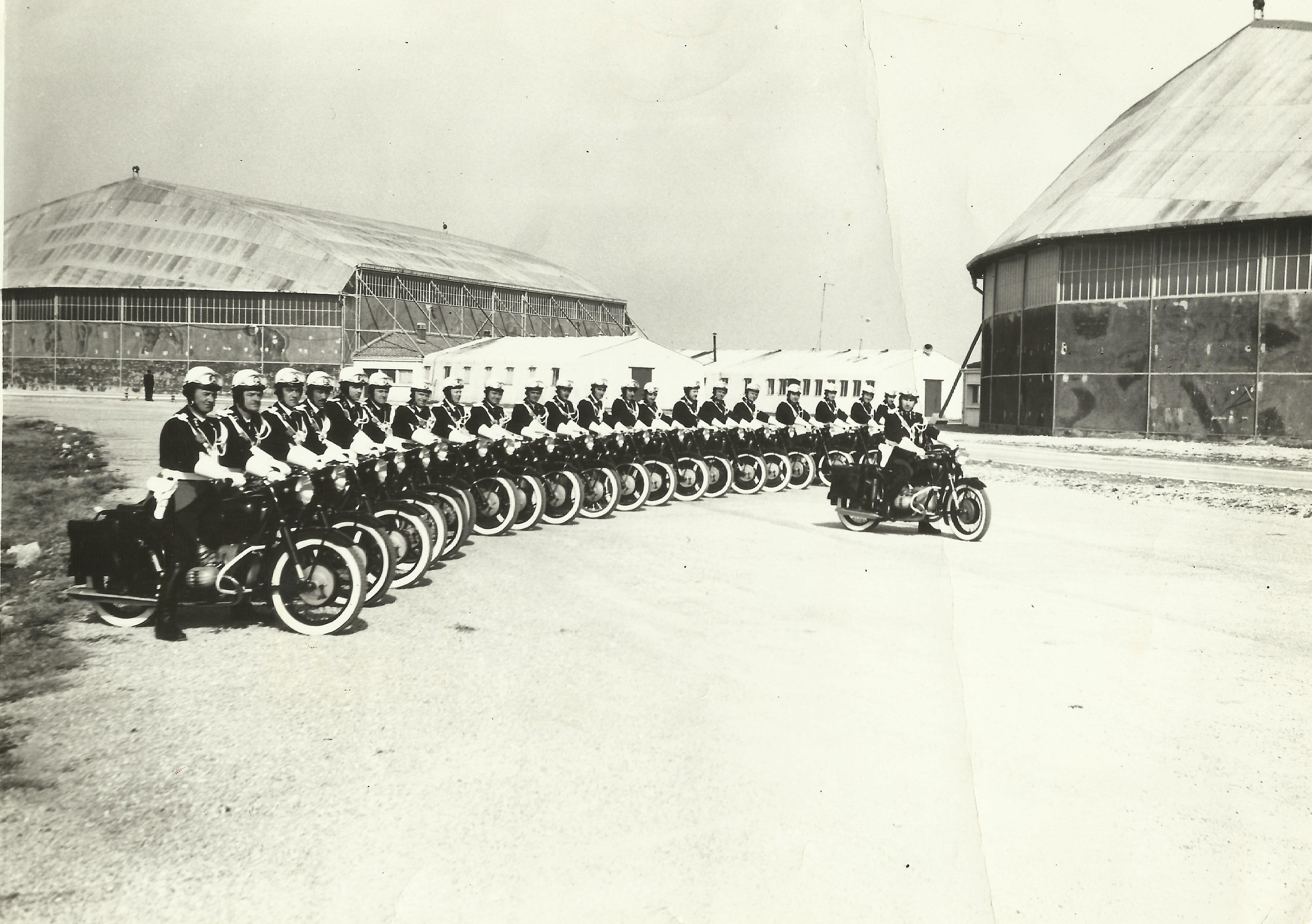 Photos Gendarmerie, BMO de Hyeres  années 1960 227142BMO002