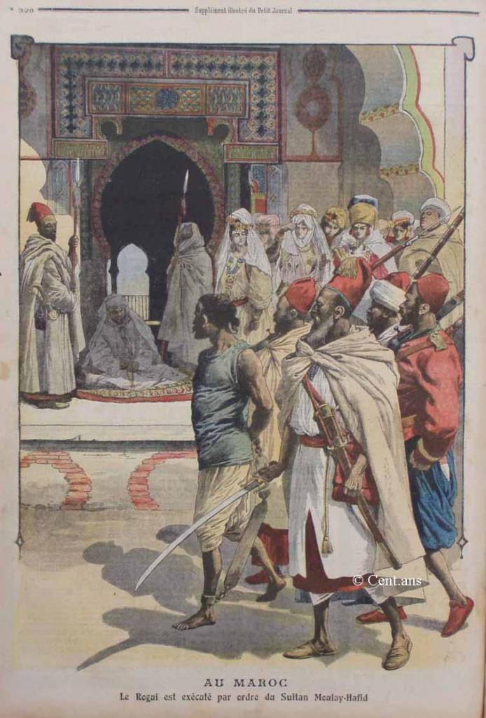 صفحات من تاريخ المغرب الحديث من خلال Le Petit journal illustré 227726pj98503101909b