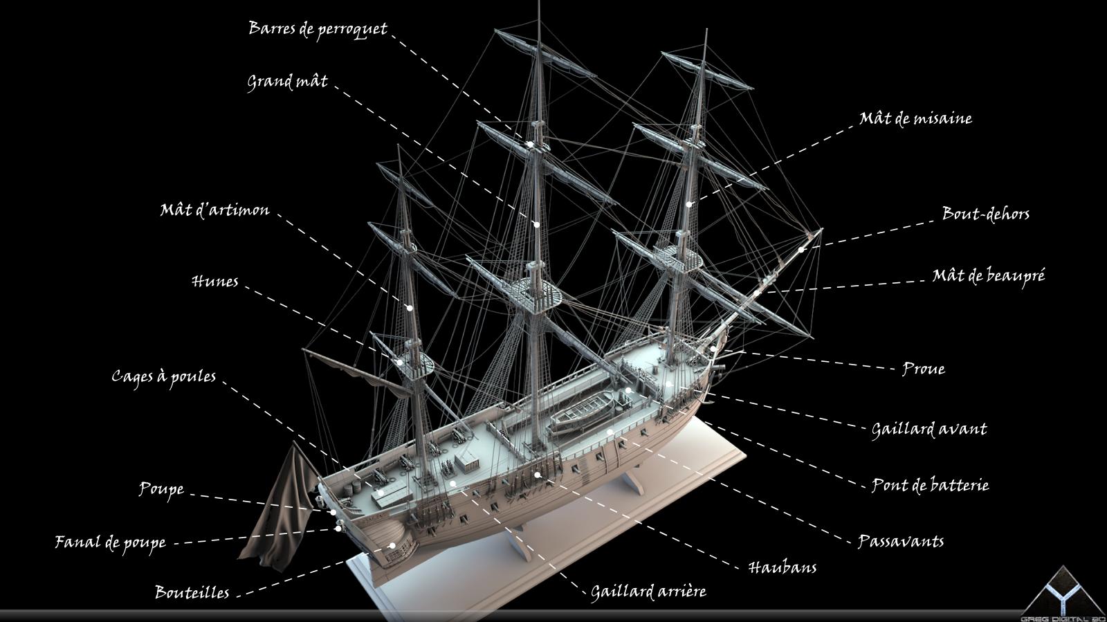 Frégate m'a première réalisation d'un navire en 3D. - Page 6 227804FrgatelightroomR1612