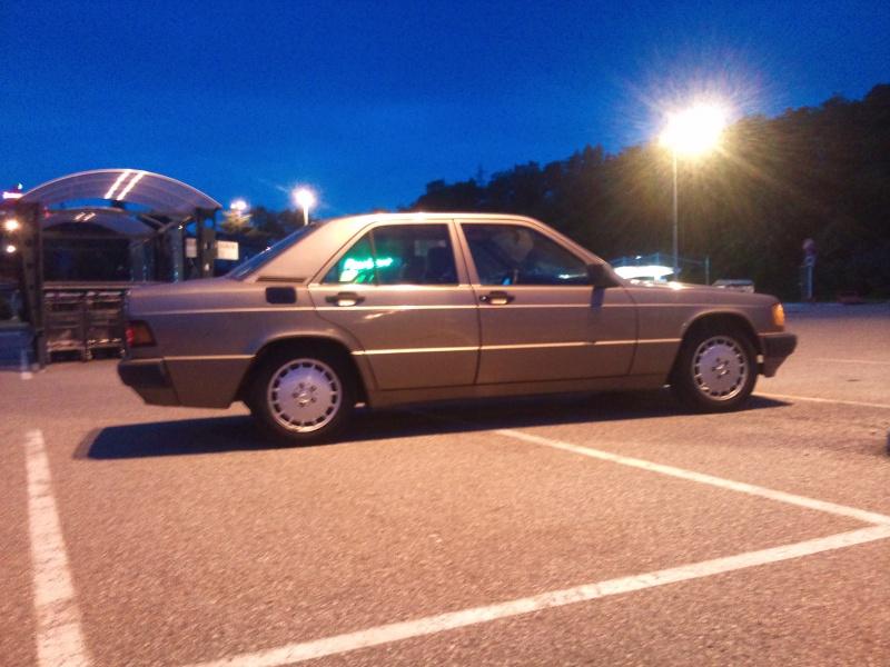 Mercedes 190 1.8 BVA, mon nouveau dailly - Page 9 228016DSC2306