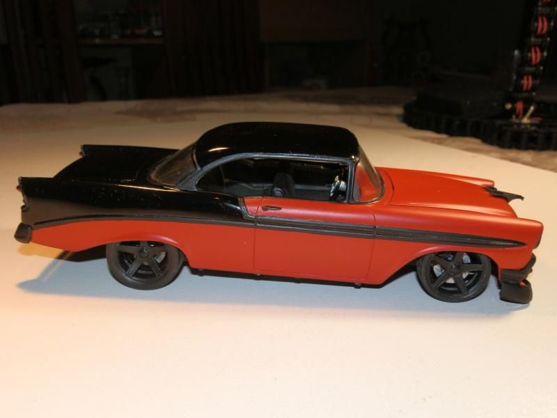 #47 : Chevy bel air 56 custom (TERMINEE) 231100P9305395
