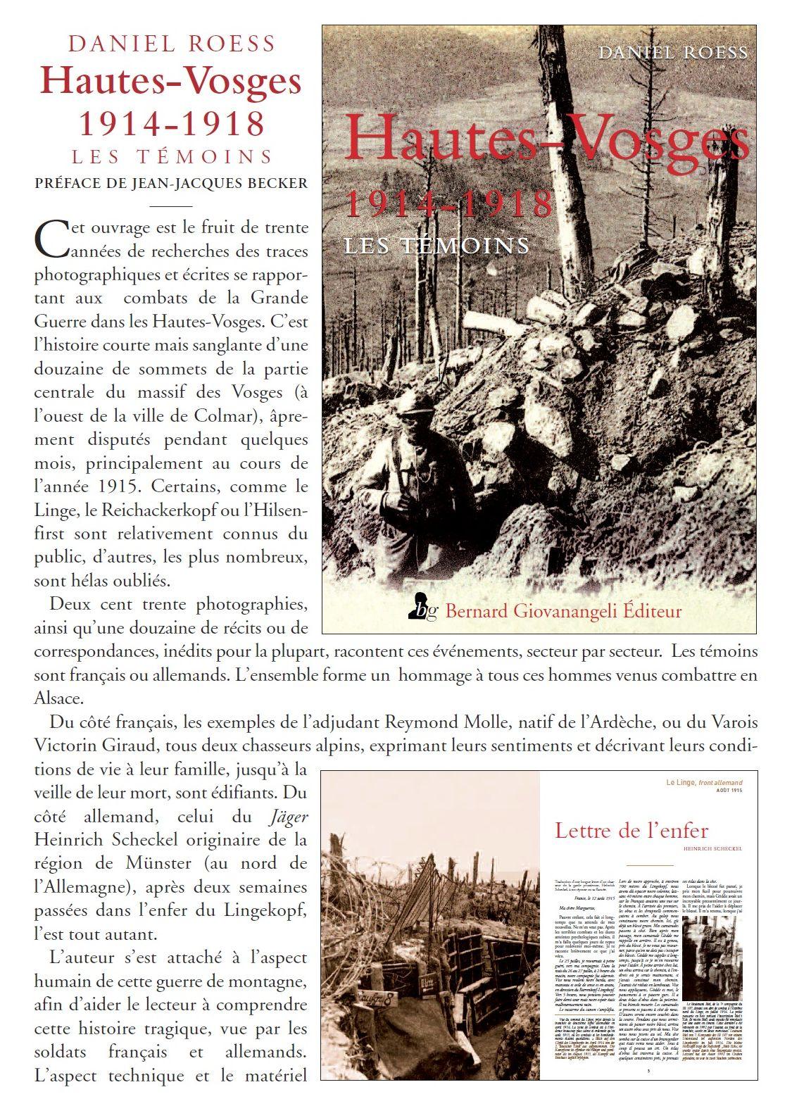 HAUTES-VOSGES 1914-1918 231817hautesvosges1