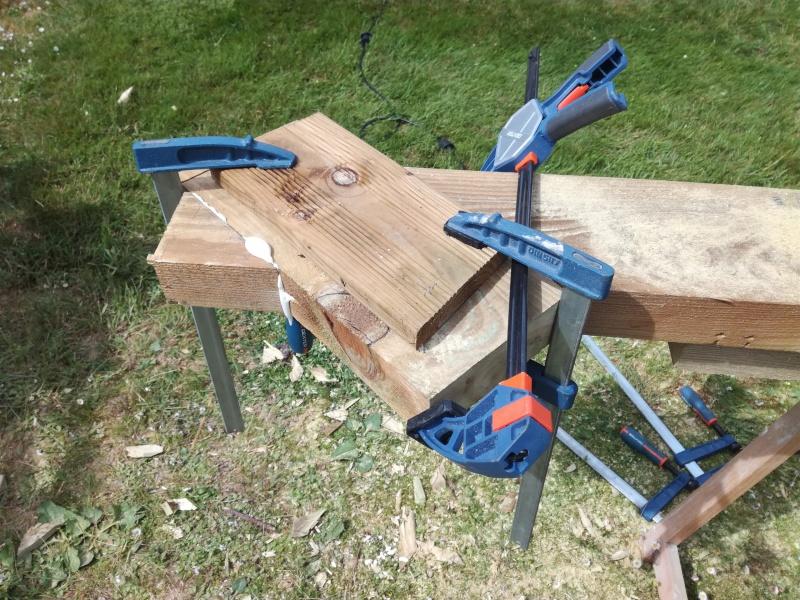 Projet de toboggant pour la cabane dans les arbres de mon fils, vos idées? - Page 2 233793IMG20170603162252
