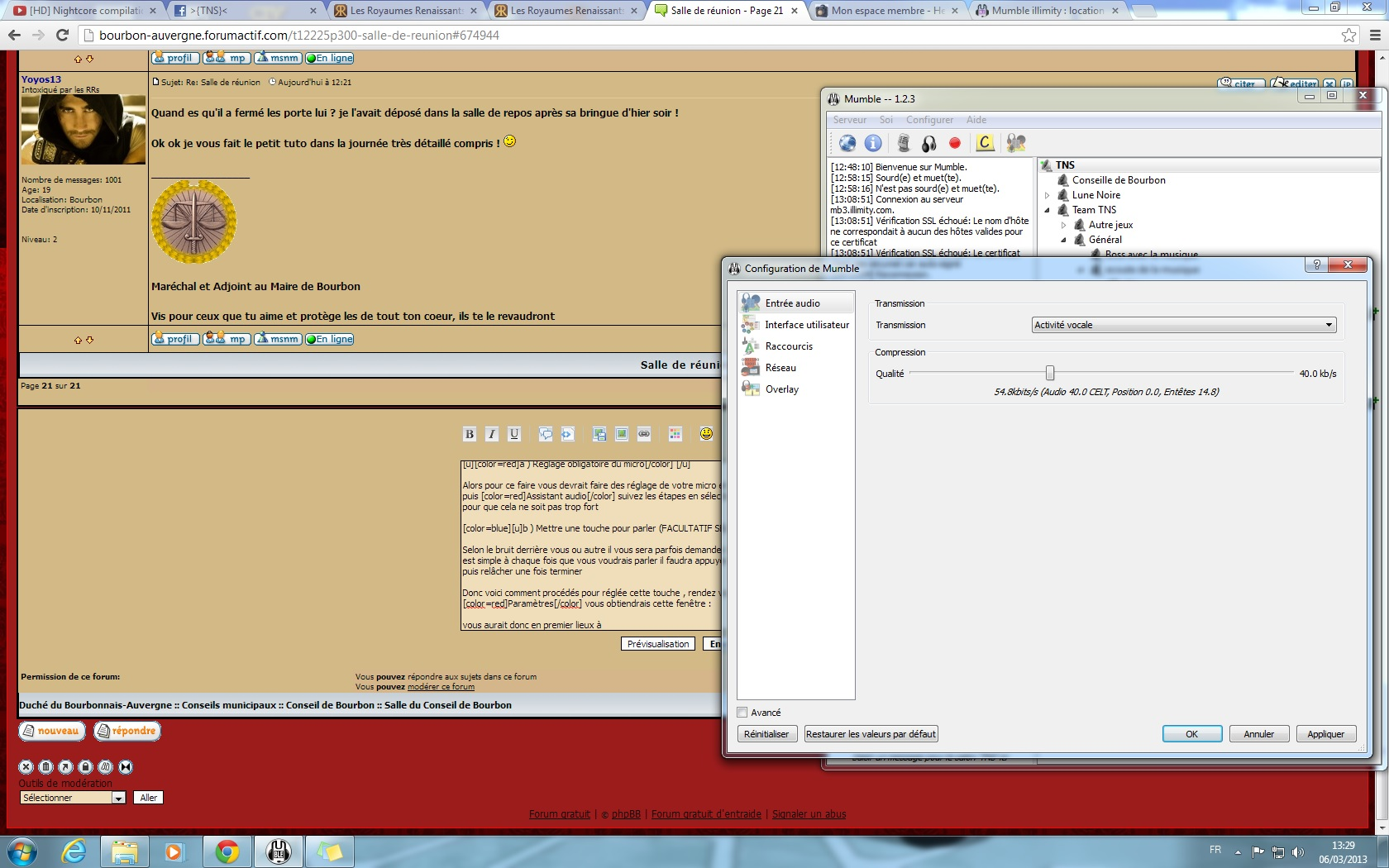 Installer et configurer mumble 235462installationM7