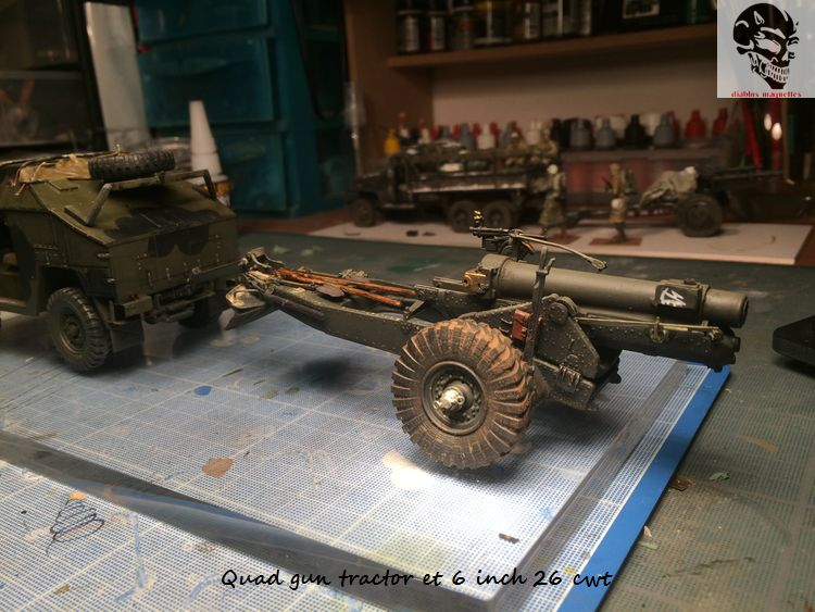 Quad gun tractor et 6 inch 26 CWT en Normandie 1/35 235963IMG4814