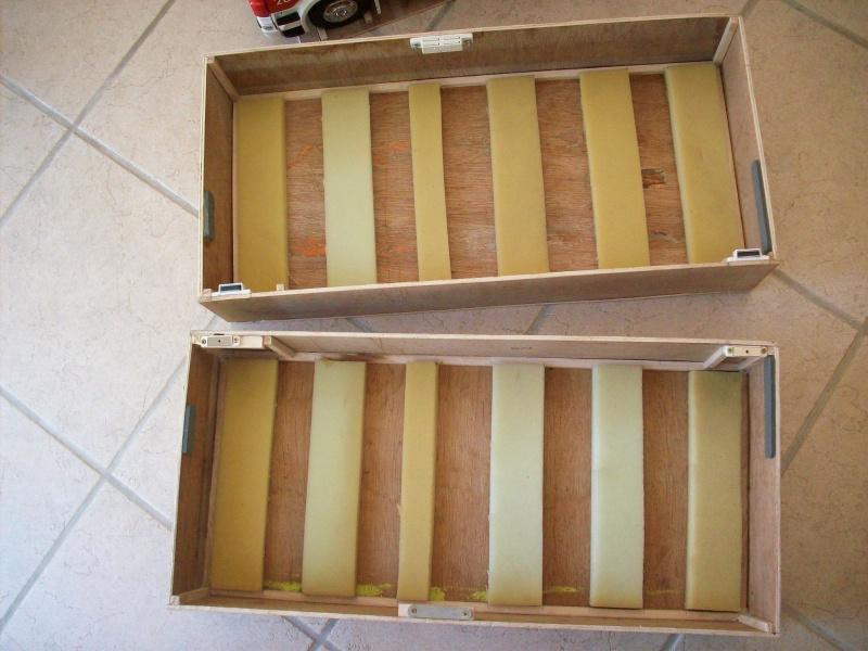 fabrication d'une caisse de transport pour le scania 2367751008907