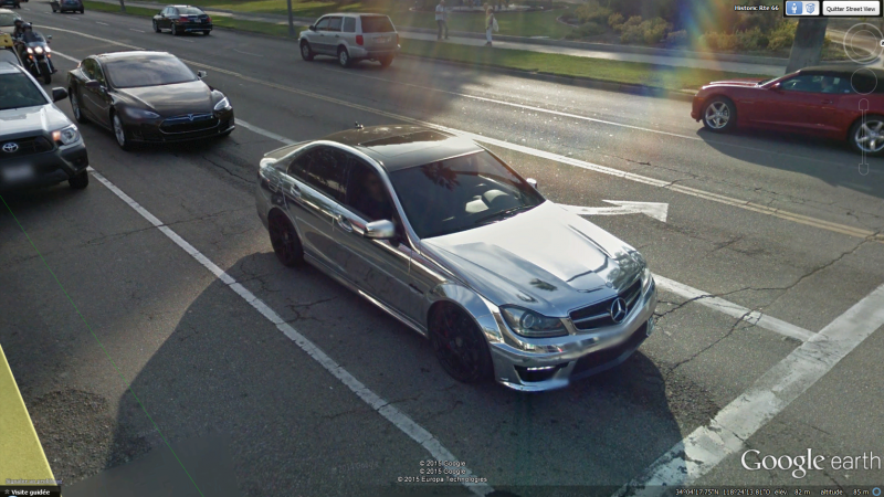 STREET VIEW : belles voitures (Monde) - Page 40 236882MercochromeLA