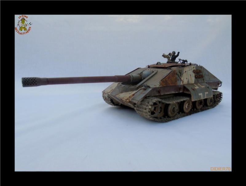 E-100 Jagdpanzer Krocodil 1/35 trumpeter 237223Sanstitre2GF