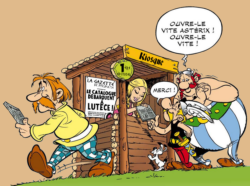 Astérix® les Variantes d'Hier et d'Aujourd'hui [Le Catalogue] 237341FicheAccueilCatalogue