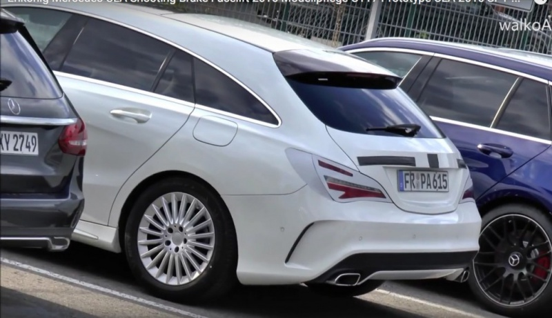 2016 - [Mercedes] CLA restylée - Page 2 2383622016MercedesCLAfaceliftrearspiedwithminimumcamouflage1024x591