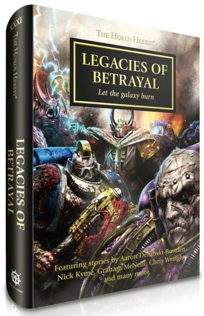 [Horus Heresy] Legacies of Betrayal - Anthologie 2386822409Legaciesnl