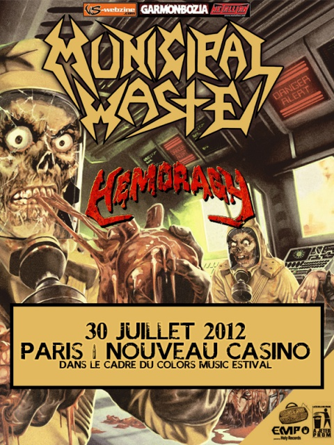 30.07 - Municipal Waste + guest @ Paris 238970MunicipalWasteParis2120730